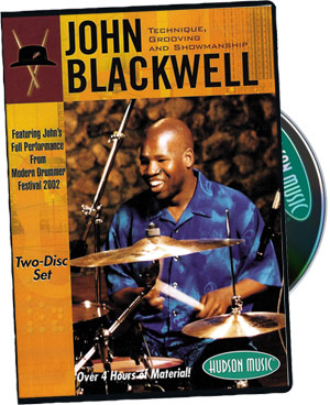 John Blackwell - Technique, Grooving and Showmanship